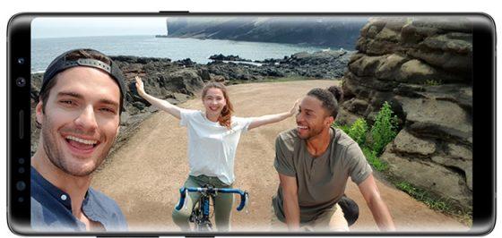 Camera Galaxy Note 8 - Selfie
