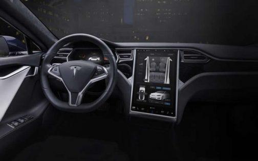 Tesla Modelo S - Interno