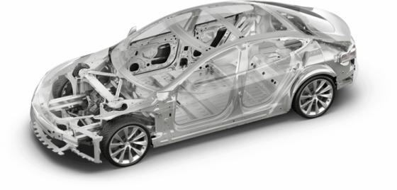 Tesla Modelo S - Segurança
