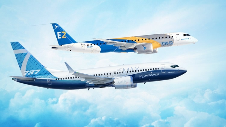 Embraer e Boeing