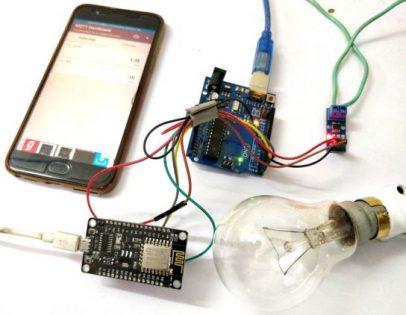 Medidor de Energia Elétrica Baseado em IoT usando ESP12 e Arduino