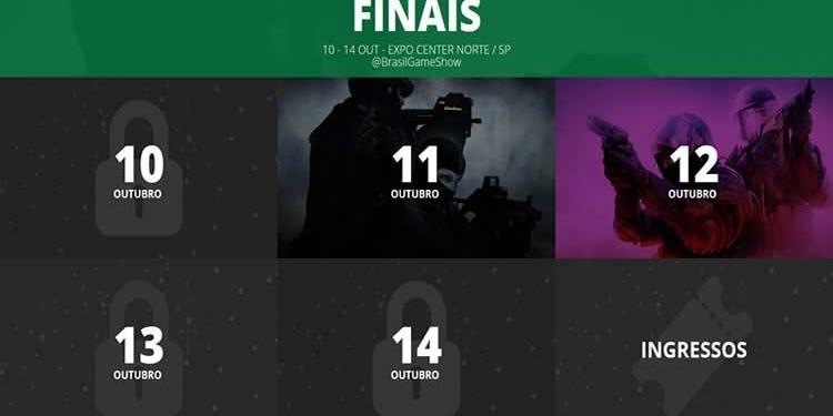 Brasil Game Cup 2018 - BGS