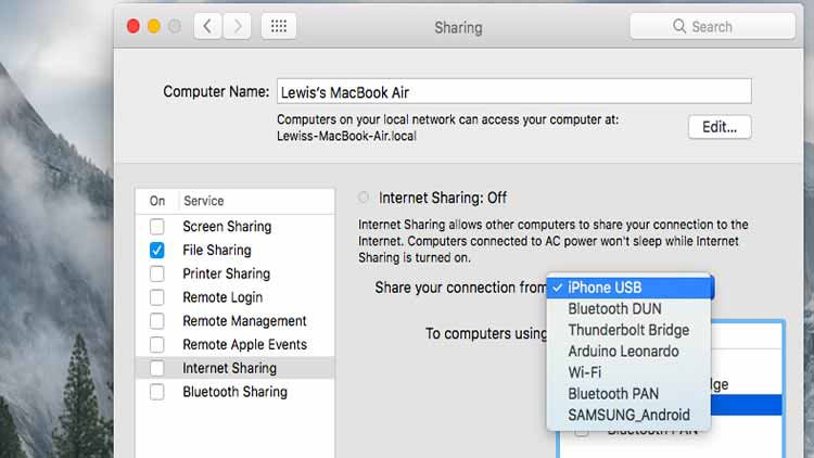 Como transformar seu Mac em um ponto de acesso Wi-Fi 1
