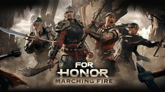 Expansao For Honor Marching Fire