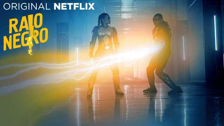 Raio Negro 1ª Temporada Série Original Netflix 2018
