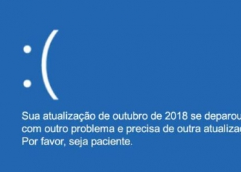Windows 10 Tela Azul da Morte