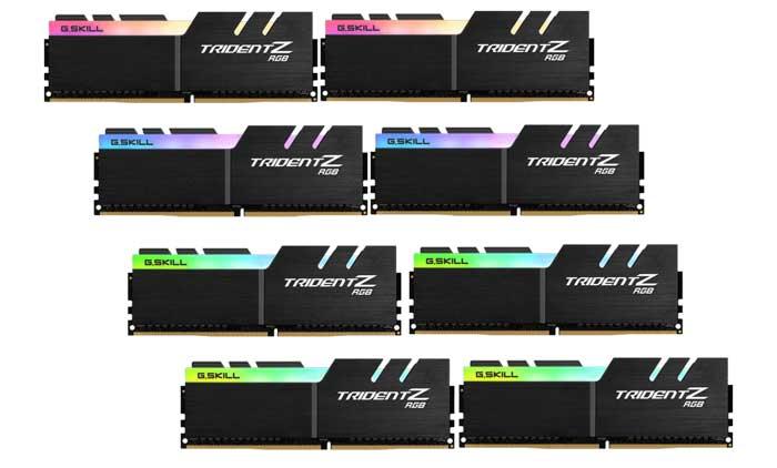 G.Skill anuncia kits de memória para o chipset Intel Core X-series e X299_