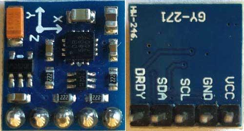 QMC5883L Magnetômetro sensor